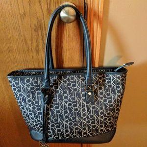 CK laptop purse